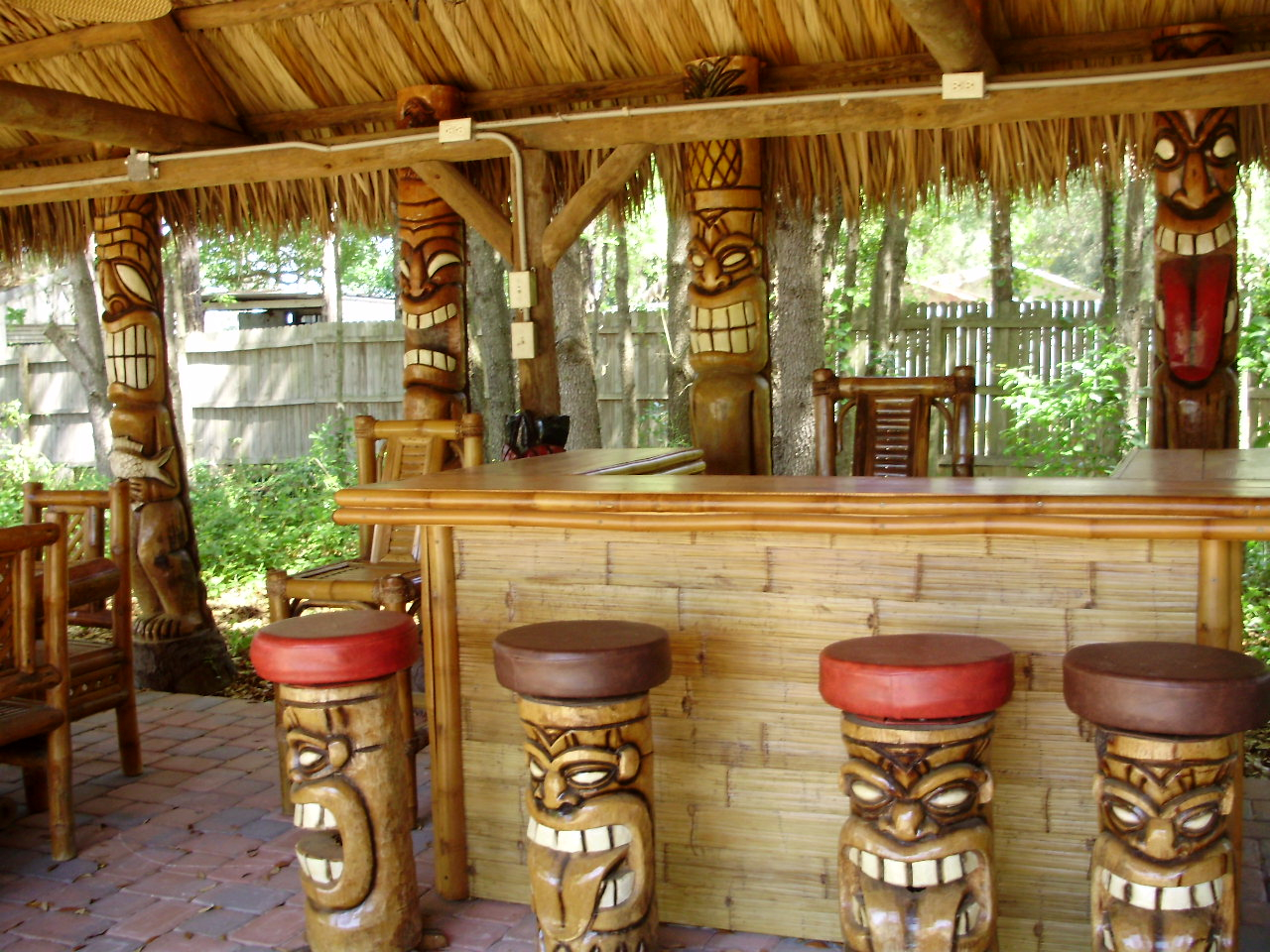 Backyard Tiki Bar Ideas Mystical Designs And Tags regarding 15 Some of the Coolest Concepts of How to Build Backyard Tiki Bar Ideas