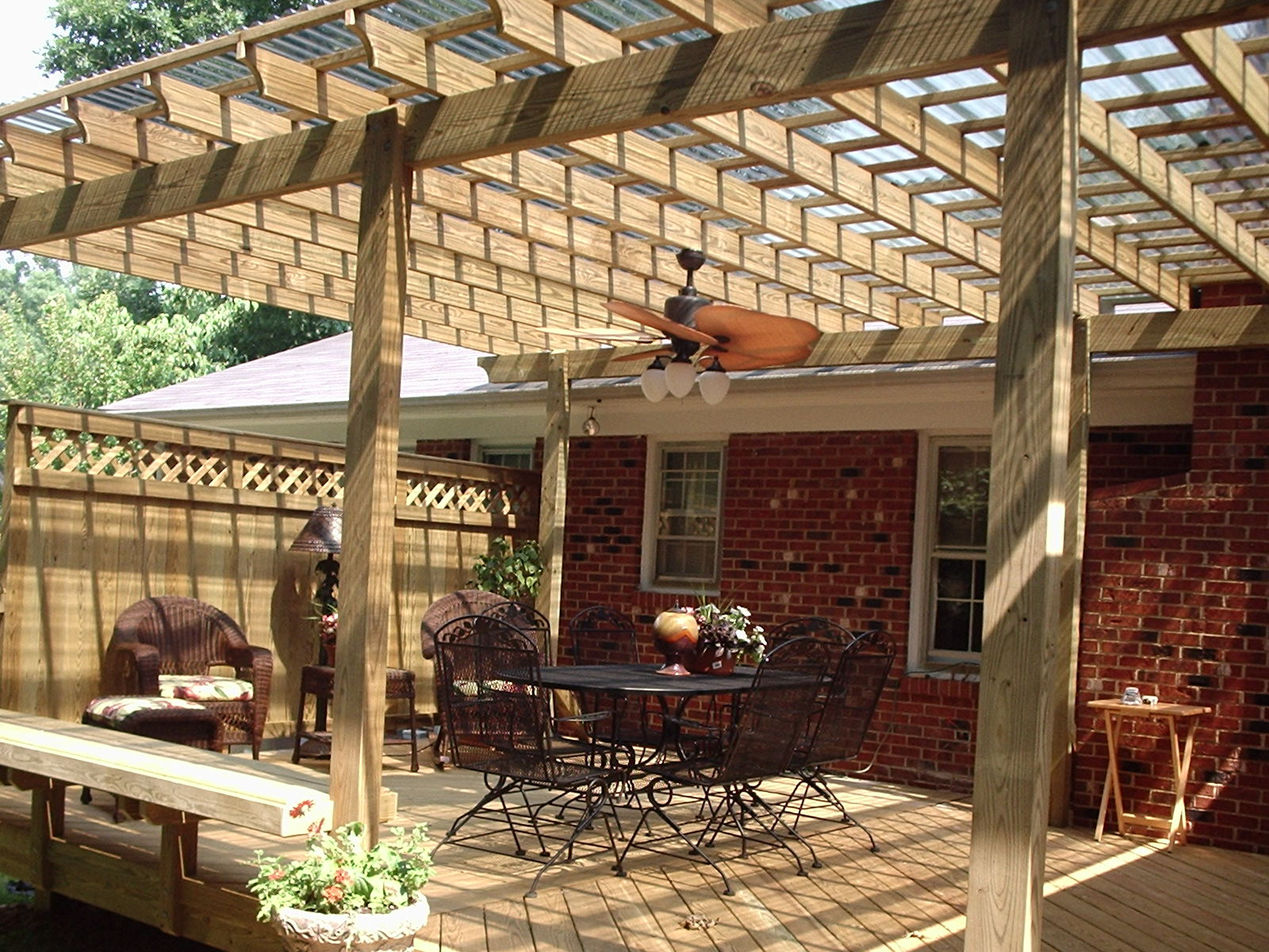 Backyard Wooden Shade Structures The Latest Home Decor Ideas pertaining to Backyard Structure Ideas