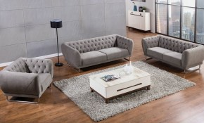 Barrett Modern Chesterfield Living Room intended for 13 Genius Designs of How to Craft Chesterfield Living Room Set