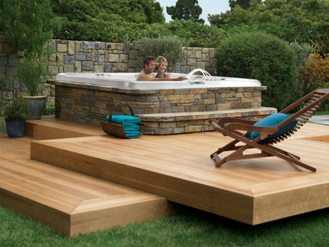 Bathtub Deck Ideas Back Yard With Hot Tub Deck Ideas Hot Tub Yard in 11 Some of the Coolest Designs of How to Makeover Hot Tub Backyard Ideas