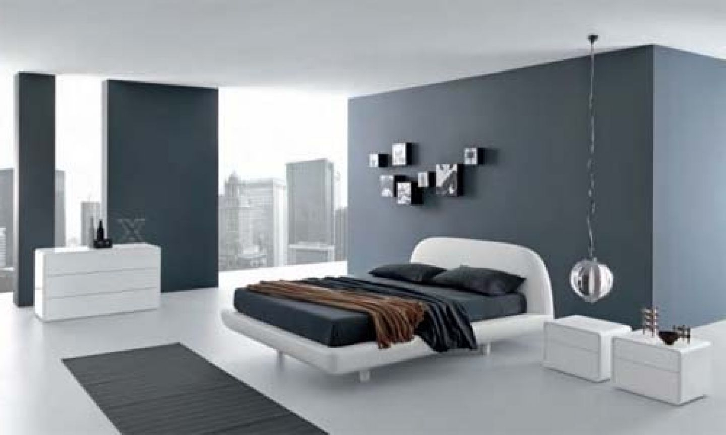 Bedroom Design Modern Bedroom With Grey Color Scheme For Men Ideas intended for 15 Some of the Coolest Initiatives of How to Build Mens Modern Bedroom