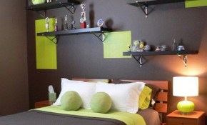 Bedroom Volley Ball Bedroom Decor With Green And Black Wall 20 inside 15 Awesome Tricks of How to Improve Modern Teen Boy Bedroom