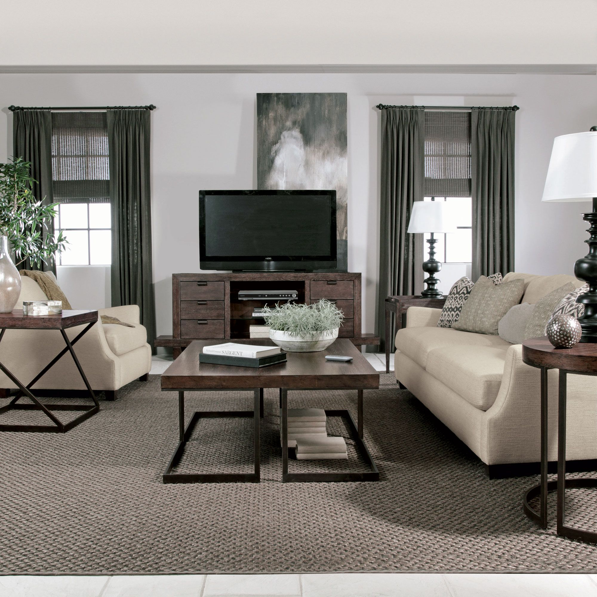 Bernhardt Elements Living Room Setting For The Home Furniture in 10 Genius Tricks of How to Make Living Room Setting