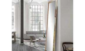 Brandtworks Ultra Modern Chrome Full Length Framed Mirror Bm15thin throughout 10 Awesome Ideas How to Improve Modern Mirrors For Bedroom