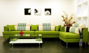 Bright Sofa Setting For Living Room Modern Style Home Decoration pertaining to Modern Living Room Settings