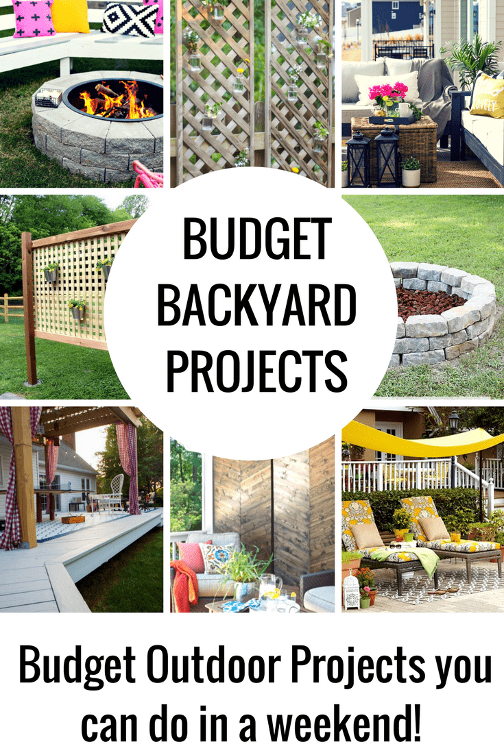 Budget Diy Backyard Projects To Do This Weekend Princess Pinky Girl with Diy Backyard Ideas On A Budget