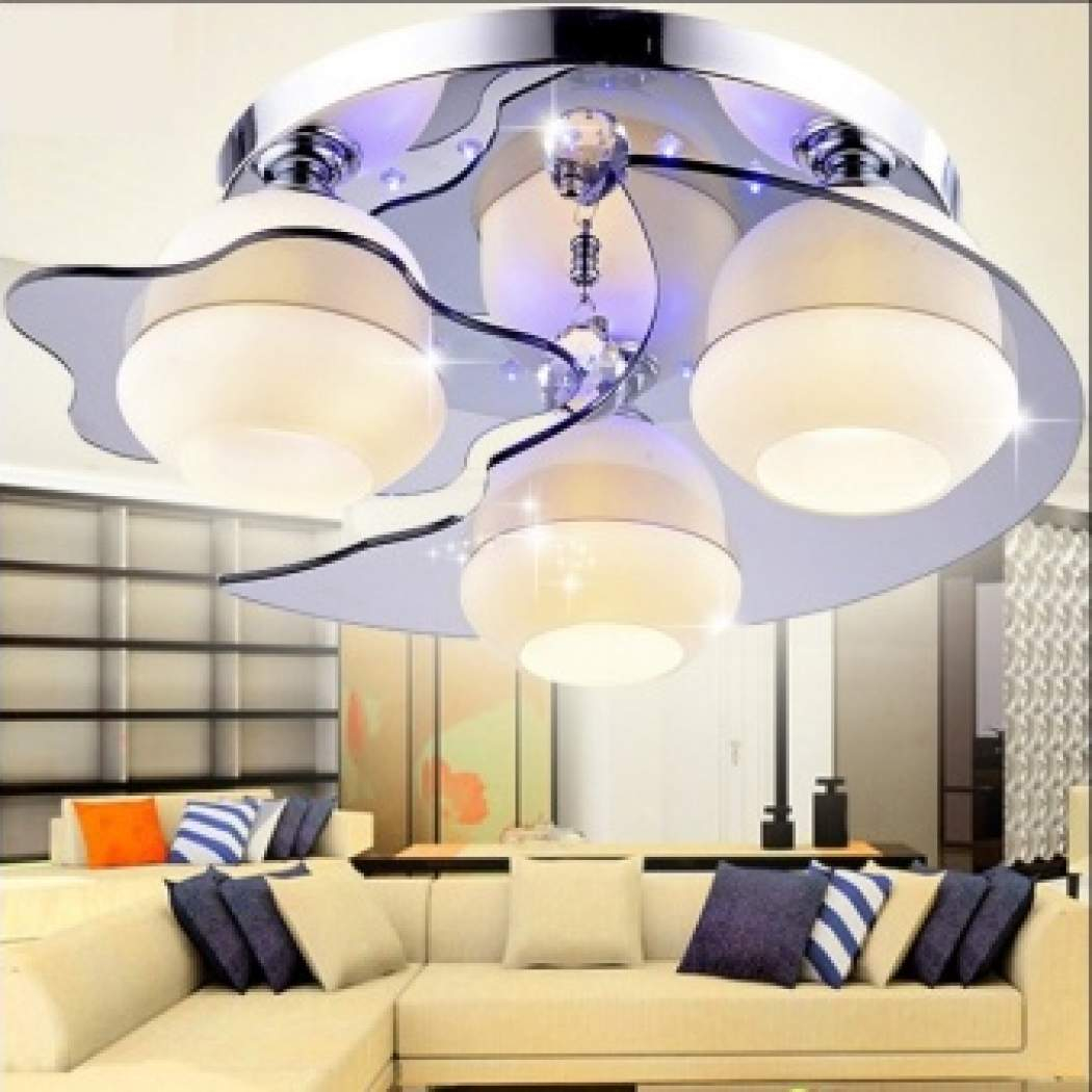 Buy Now Led European Style Ceiling Light Modern Crystal Living Room inside Bedroom Ceiling Lights Modern