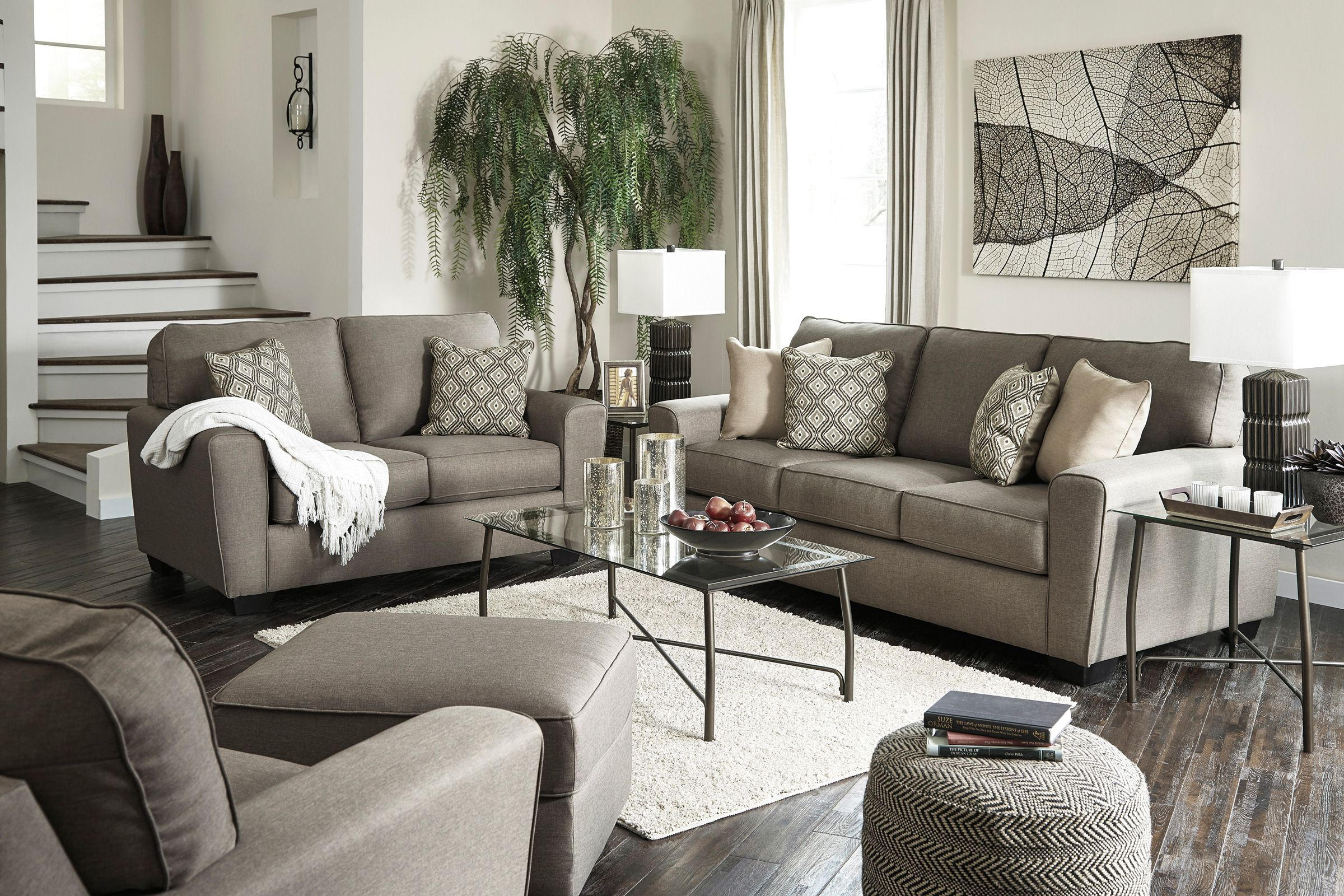 Calicho Ashley Living Room Collection with Ashley Living Room Sets Sale