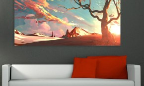 Canvas Painting Beautiful Nature Modern Art Wall Painting For inside Modern Art Bedroom