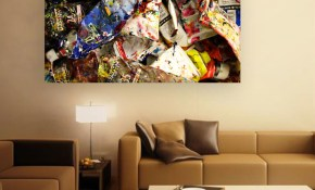 Canvas Painting Modern Art Wall Painting For Living Room Bedroom throughout Modern Art Bedroom