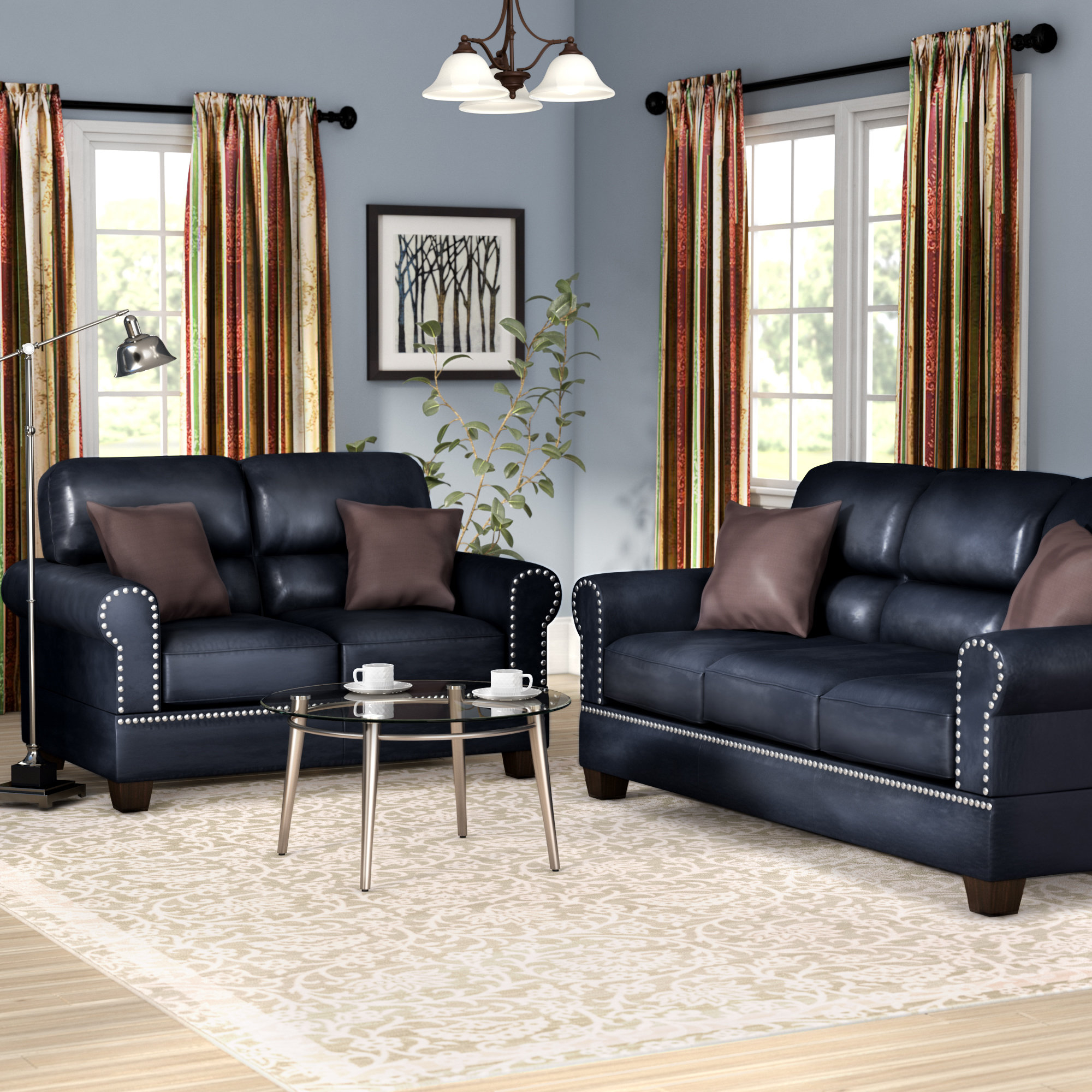 Charlton Home Boyster 2 Piece Living Room Set Reviews Wayfair with regard to Living Room Set For Cheap