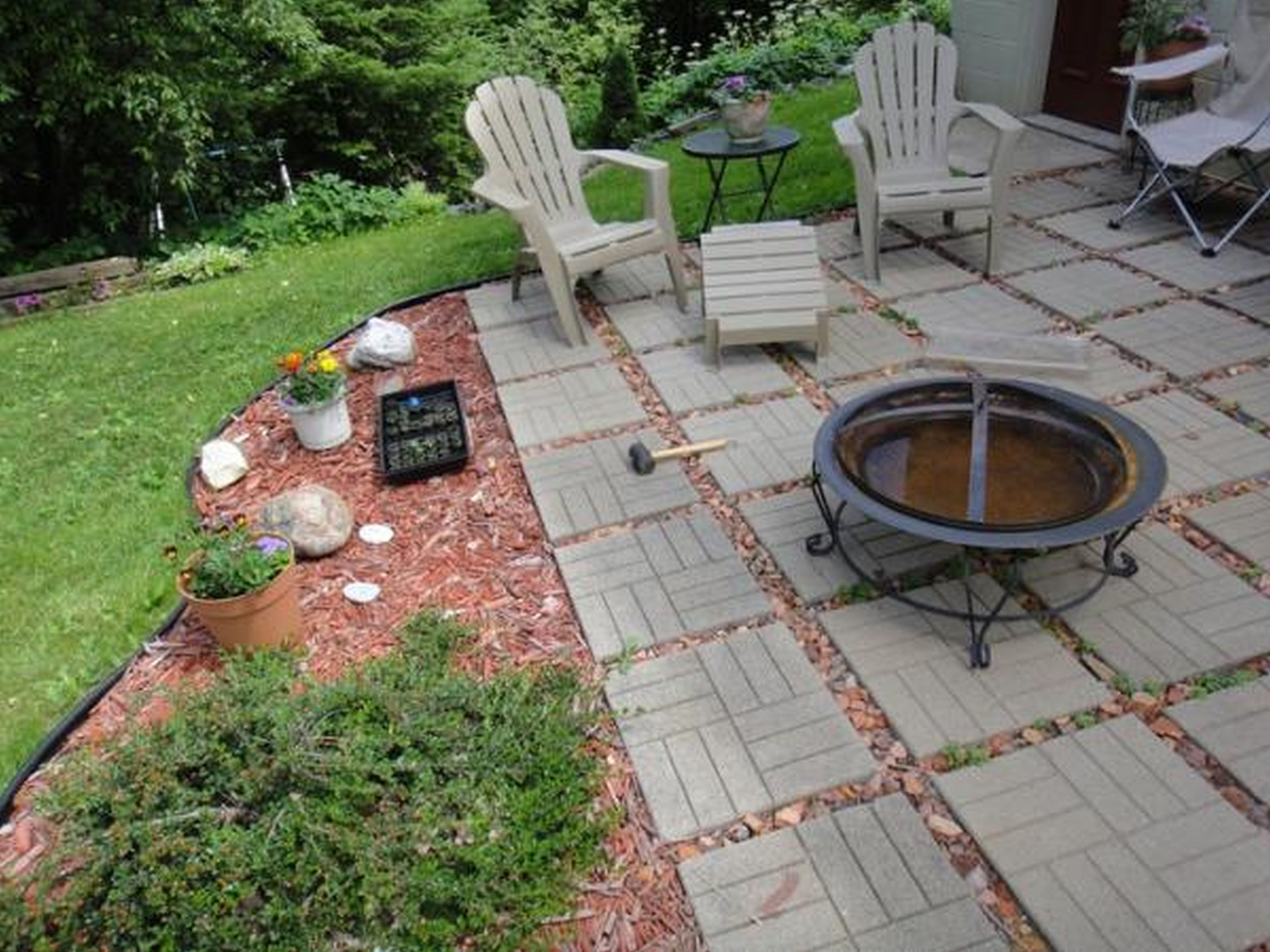 Cheap Patio Ideas Diy Cheap Easy Diy Patio Ideas intended for 14 Clever Concepts of How to Build DIY Backyard Landscape Design