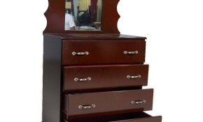 Chest Of Drawers With Mirror 4 Drawer Modern Industries Limited with regard to Modern Bedroom Chest Of Drawers