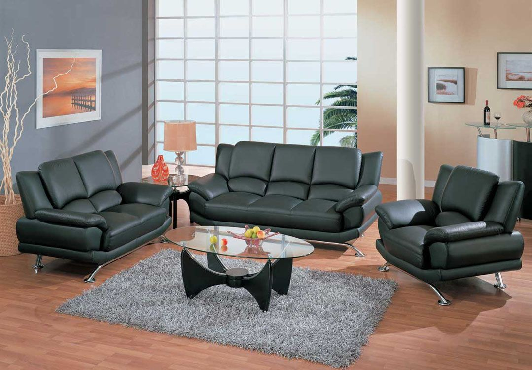 Contemporary Living Room Set In Black Red Or Cappuccino Leather San with 12 Awesome Tricks of How to Make Black Leather Living Room Set
