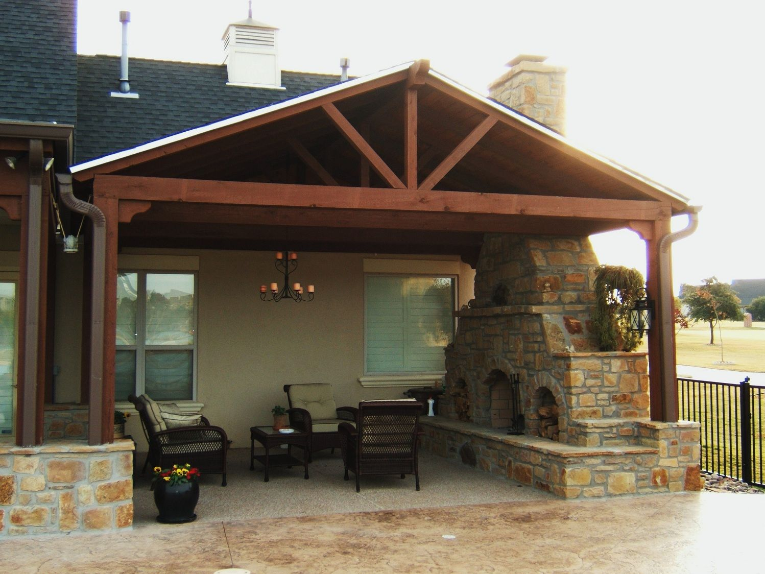 Covered Porch Ideas To Make A Livable Room Jos Nyc Outdoor Room with regard to 11 Clever Concepts of How to Build Covered Patio Ideas For Backyard