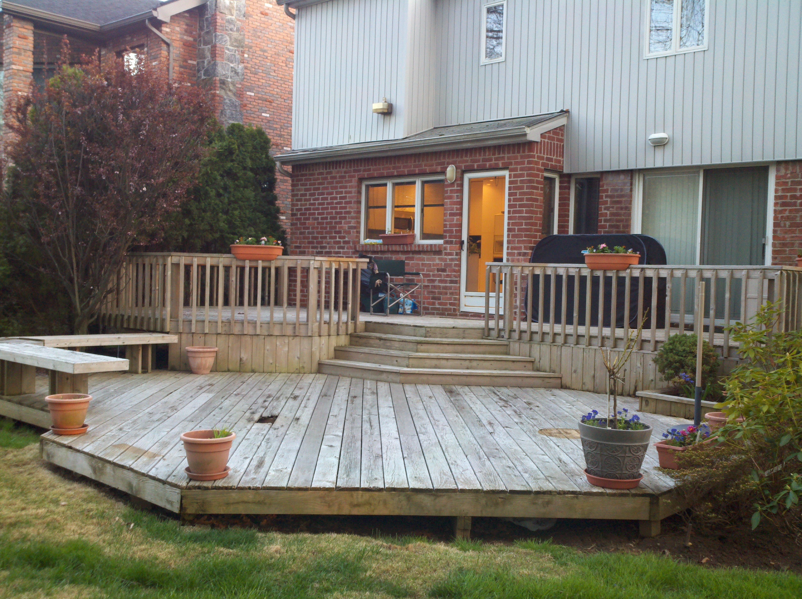 Deck And Patio Design Ideas Covered Designs Awesome Backyard Paver in Simple Backyard Deck Ideas