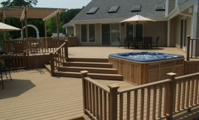 Deck Nation Why Do We Love Our Decks So Much The Deck And Patio inside Backyard Deck Ideas With Hot Tub