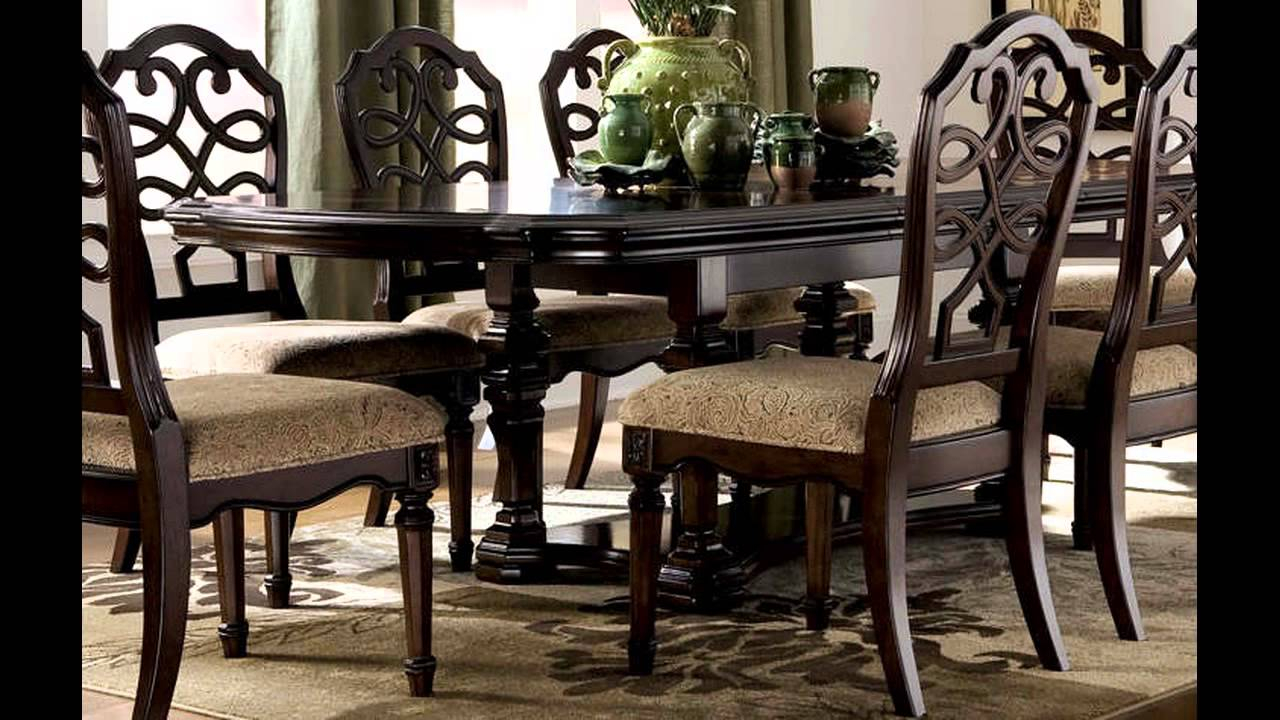 Dining Room Sets Ashley Furniture Youtube pertaining to Living Room Sets Ashley
