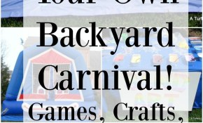 Diy Your Own Backyard Carnival This Link Has Tons Of Really Great intended for Backyard Carnival Ideas