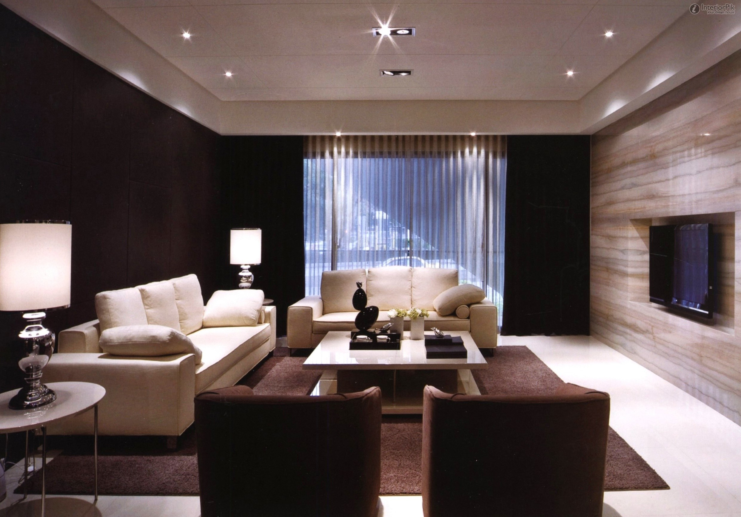Drawing Room Setting Ideas Acme Dreena Traditional Bonded Leather pertaining to Modern Living Room Settings