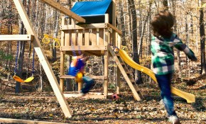 Easy Wooden Swing Set Plans How To Build A Swing Set For The Yard intended for 12 Smart Ideas How to Upgrade Backyard Swing Set Ideas