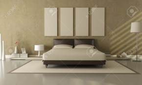 Elegant Modern Brown And Beige Bedroom Stock Photo Picture And in 11 Genius Designs of How to Build Brown Modern Bedroom