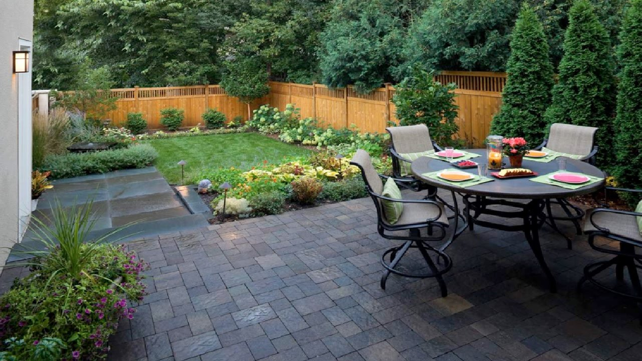 Excellent Design Ideas Small Yard Landscaping Designs Elegant throughout How To Design Backyard Landscape