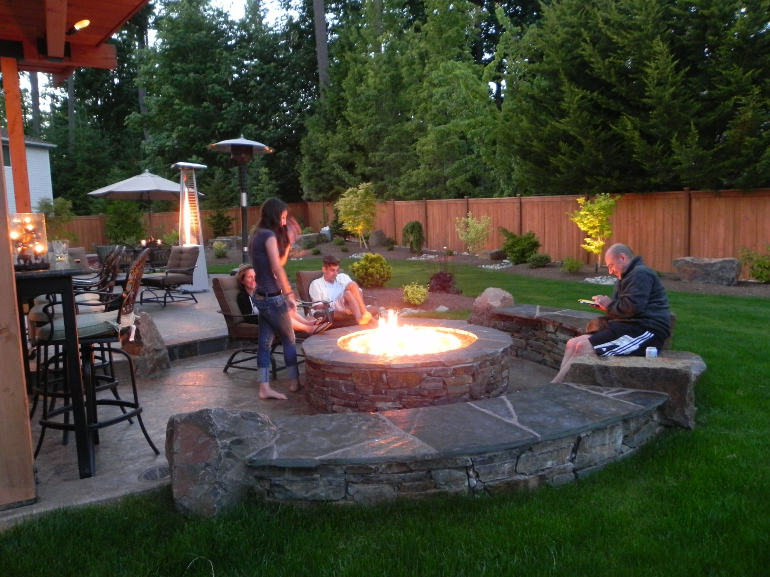 Fireplace Or Fire Pit Backyard Ideas Fire Pit Patio Fire Pit with 15 Smart Designs of How to Improve Backyard Landscaping Ideas With Fire Pit
