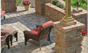 Flagstone Patio Brick Bench Patio Deck Designs Patio Patio Design with regard to 13 Some of the Coolest Initiatives of How to Improve Backyard Stone Patio Ideas