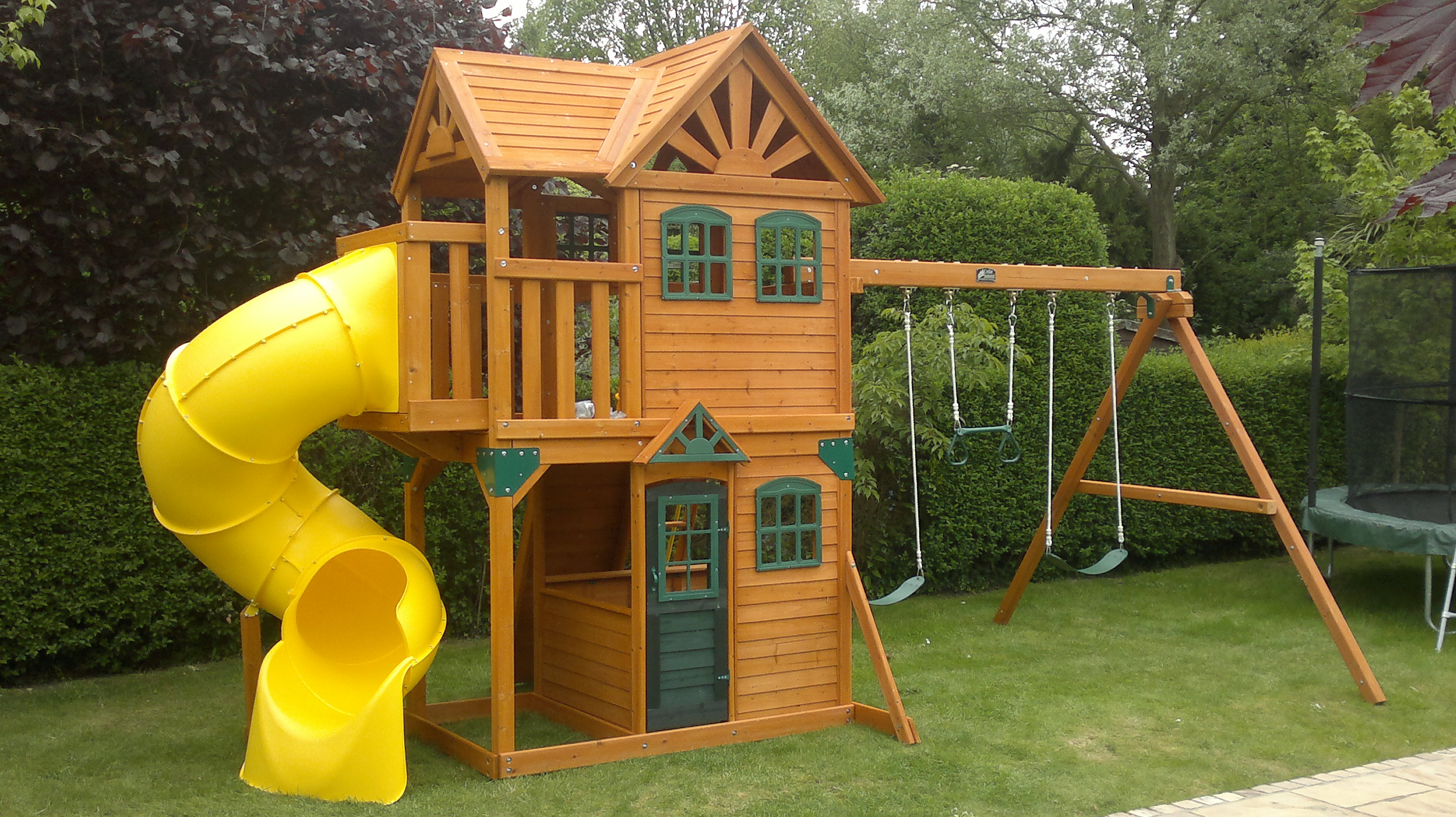 Furniture Charming Backyard Playsets For Kids Playground Ideas with regard to Cheap Backyard Playground Ideas