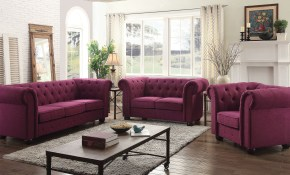 G498 Tufted Living Room Set Berry Glory Furniture Furniture Cart regarding Tufted Living Room Set