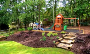Hilly Backyard Landscaping Ideas Hilly Backyard Landscaping Ideas throughout Landscaping Sloped Backyard