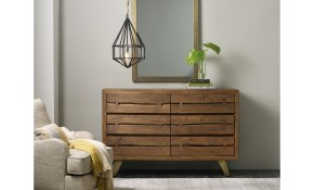 Hooker Furniture Transcend Contemporary 6 Drawer Dresser And Mirror pertaining to 12 Awesome Concepts of How to Make Modern Bedroom Chest