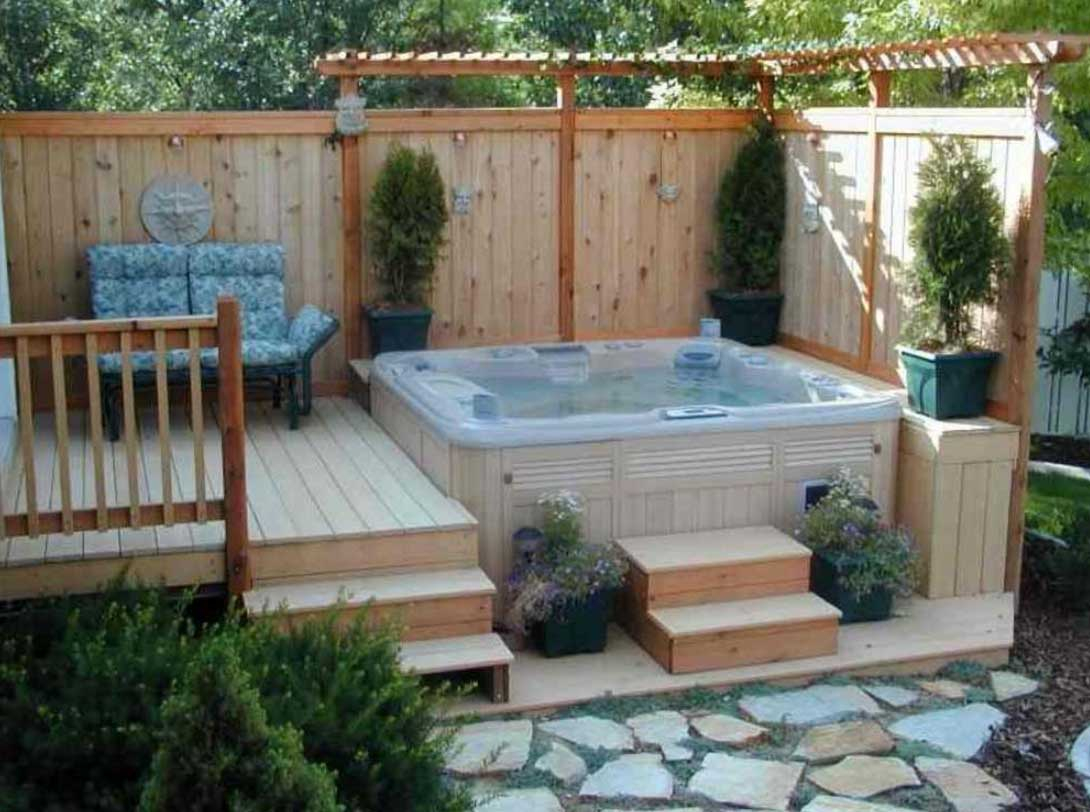 Hot Tub Backyard For Design Or Remodel Project Ideas Home Ideas inside 11 Some of the Coolest Designs of How to Makeover Hot Tub Backyard Ideas
