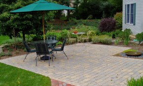 How Much Does A Paver Patio Cost Garden Design Inc for Cost Of Landscaping Backyard