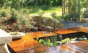 How To Build A Pond Easily Cheaply And Beautifully The Garden Glove with regard to 10 Genius Tricks of How to Improve Backyard Pond Ideas Small