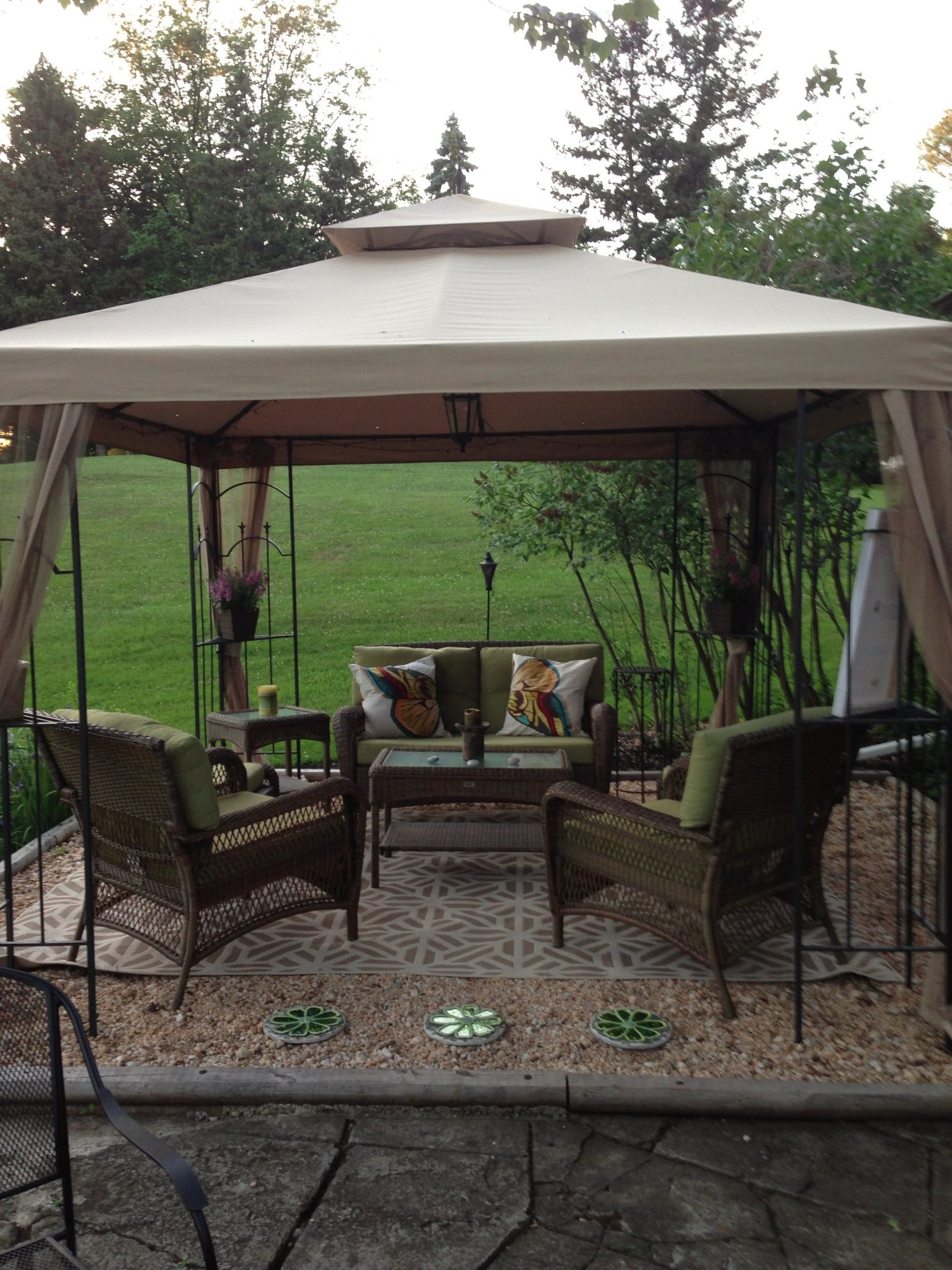 Idea For Gazebo On Sale For Just Over 1000 At Lowes In July My regarding 12 Awesome Ideas How to Improve Lowes Backyard Ideas