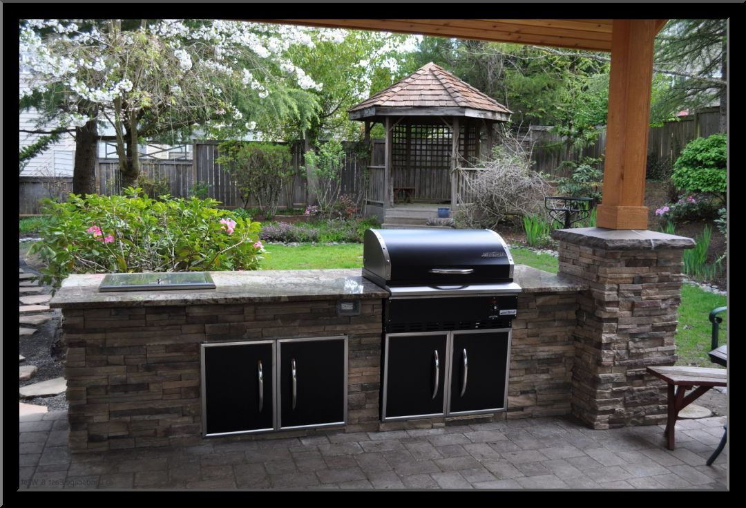 Ideas Patio Bbq Outside Backyard Area Stunning Barbeque Small Design with Backyard Bbq Area Design Ideas