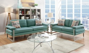 Ivy Bronx Altimari 2 Piece Living Room Set Wayfair in Turquoise Living Room Set
