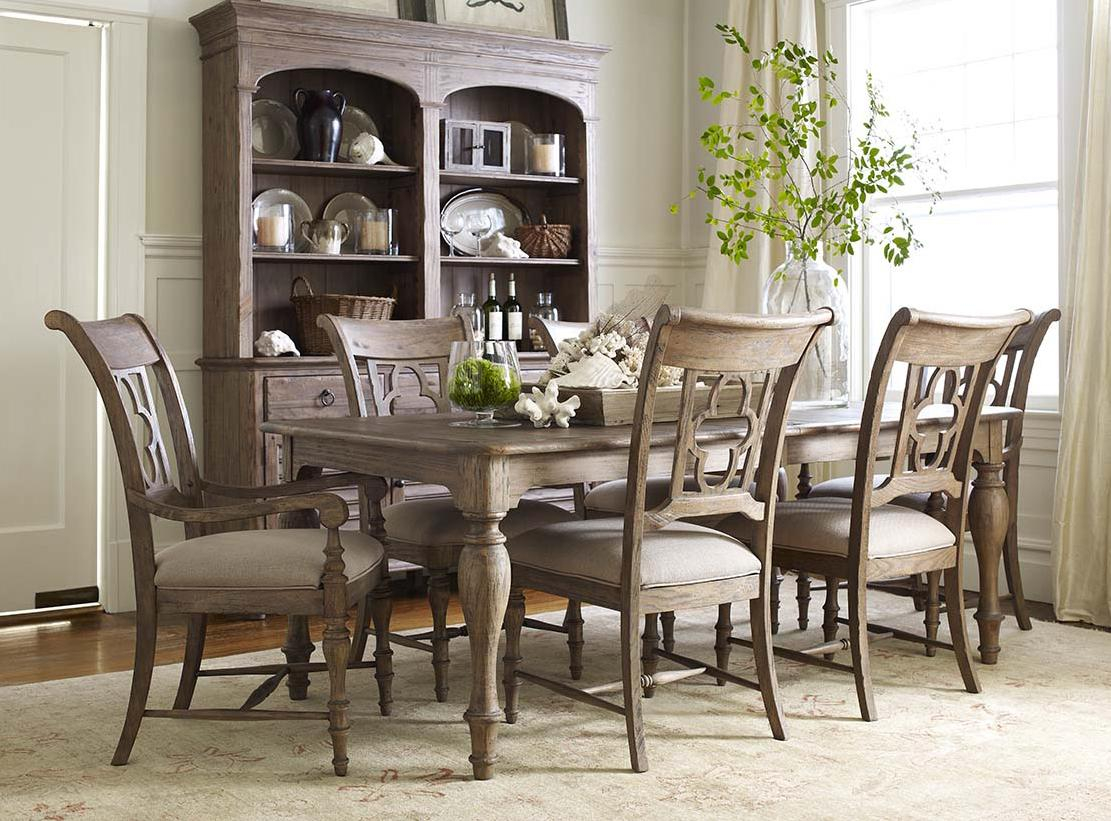 Kincaid Furniture Weatherford 7 Piece Dining Set With Canterbury for 15 Some of the Coolest Designs of How to Craft 7 Piece Living Room Sets