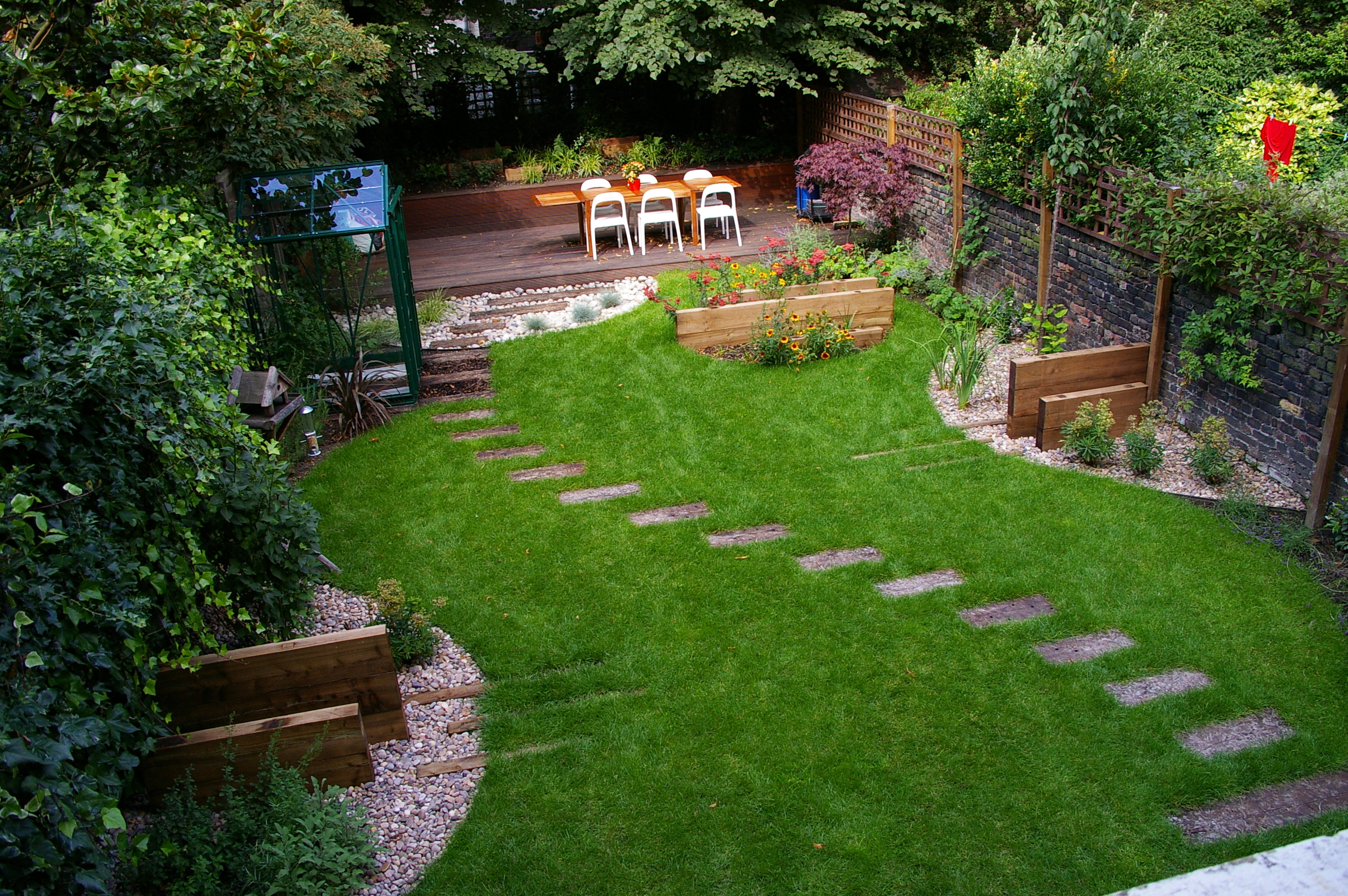 Landscape Design Ideas For Small Backyards Credible Home Decor inside Landscape Ideas For Backyards With Pictures