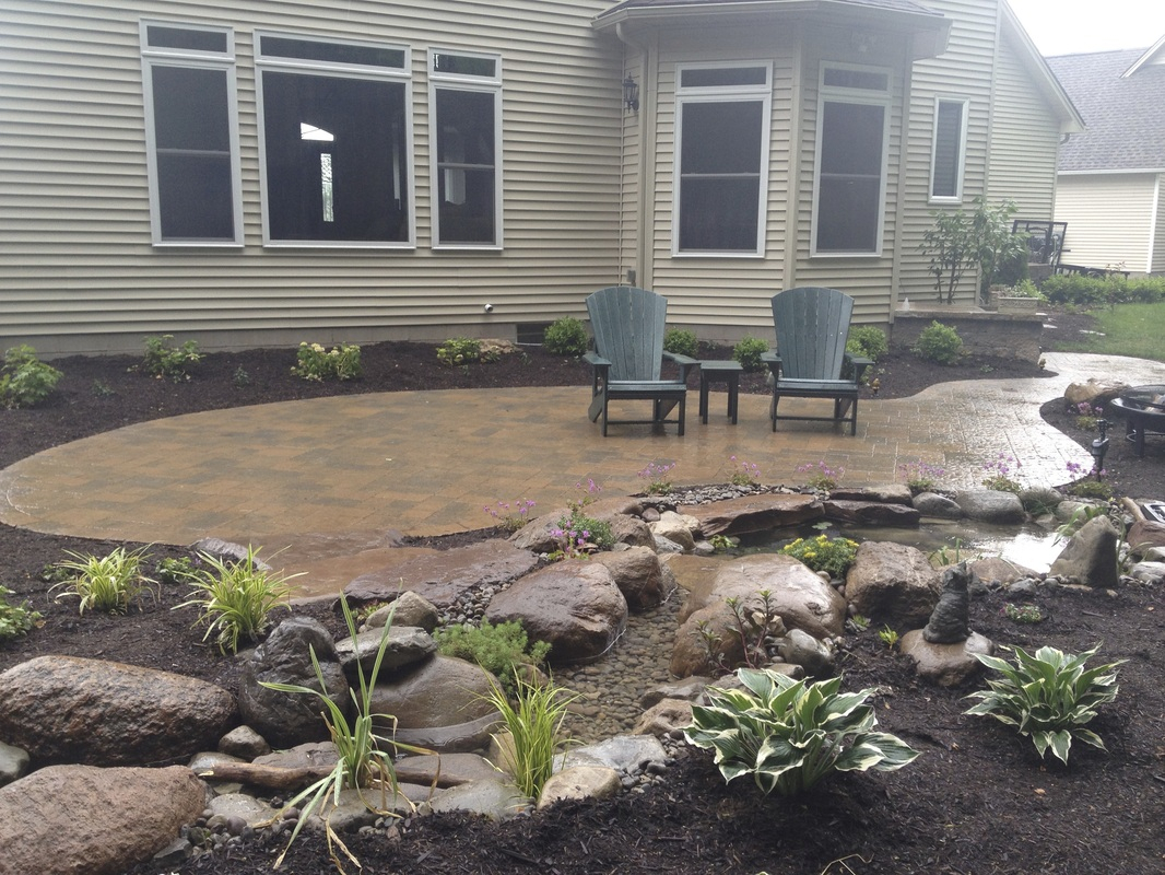Landscape Design Installation Serviceslandscaping Ideas Rochester intended for Backyard Patio Landscaping Ideas