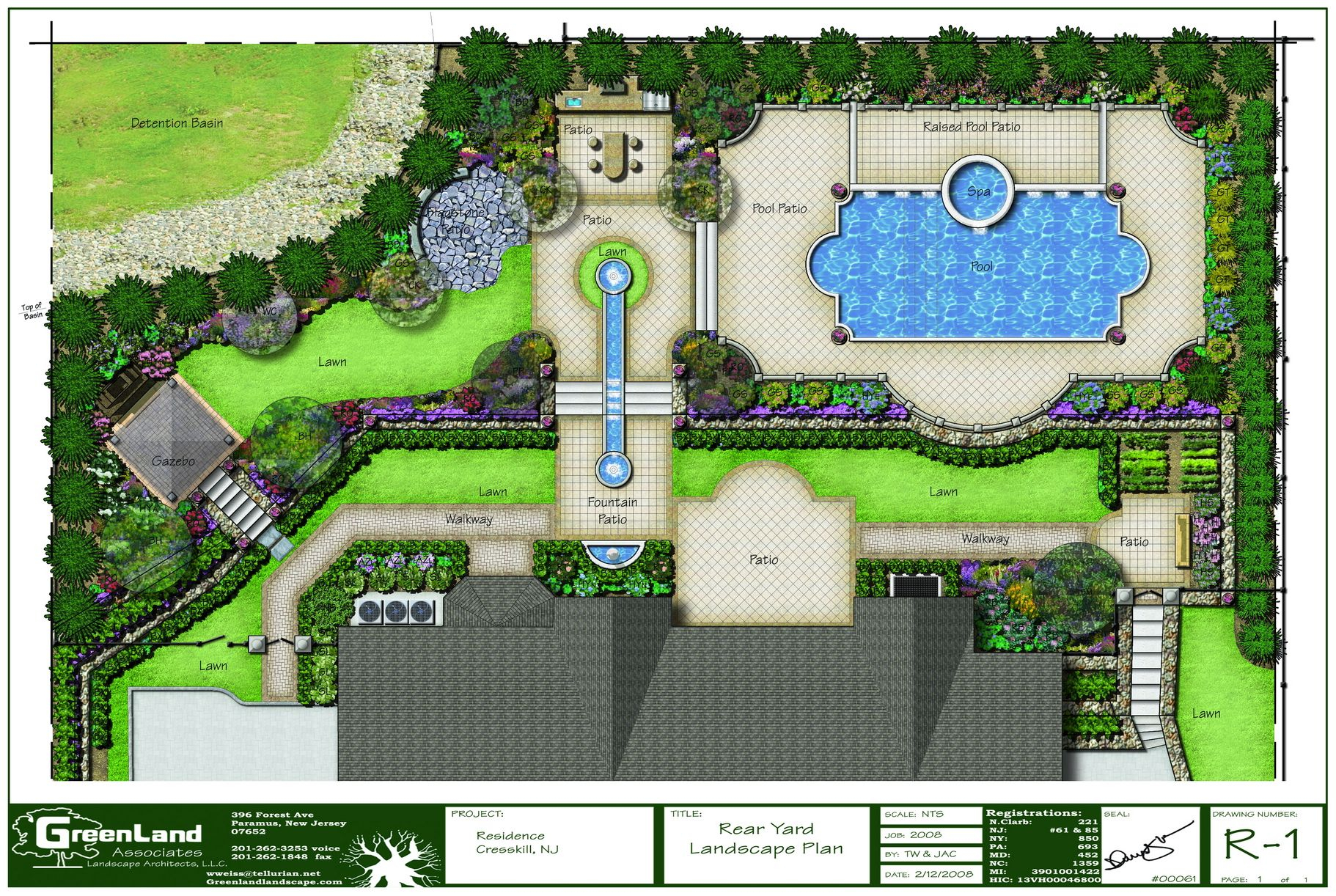 Landscape Design Rendering Software Plan Simple Landscape Design in Plan Backyard Landscaping