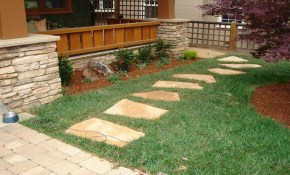Landscaping Ideas For Backyards On A Budget Backyard Low Maintenance intended for Landscaping Ideas For Backyard On A Budget