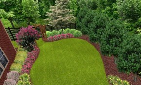 Landscaping Ideas For Privacy Sloped Garden Ideas Landscape Ideas pertaining to Landscape Ideas For Hilly Backyards