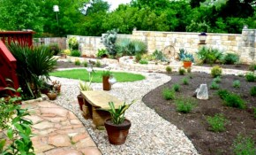 Landscaping Ideas Using Rocks And Stones Green House with regard to Backyard Landscaping Ideas With Stones