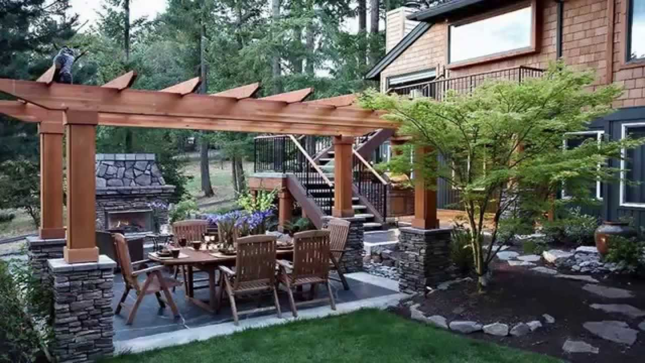 Landscaping Ideasbackyard Landscape Design Ideas Youtube pertaining to Ideas For A Backyard