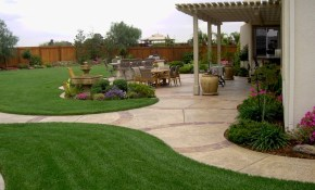 Large Backyard Landscaping Design Ideas Outdoors Home Ideas inside Landscape Backyard Design
