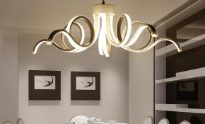 Led Modern Chandelier Lighting Novelty Lustre Lamparas Colgantes throughout Modern Chandeliers For Bedrooms