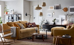 Living Room Furniture Ideas Ikea regarding Yellow Living Room Set